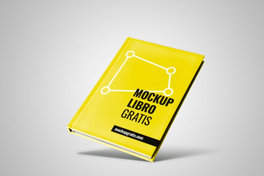 Mockup gratis de un libro en PSD