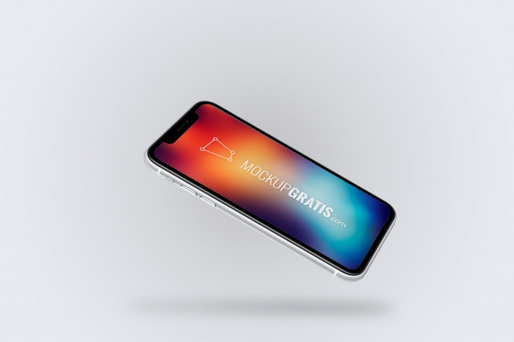 Mockup en PSD de un iPhone XR